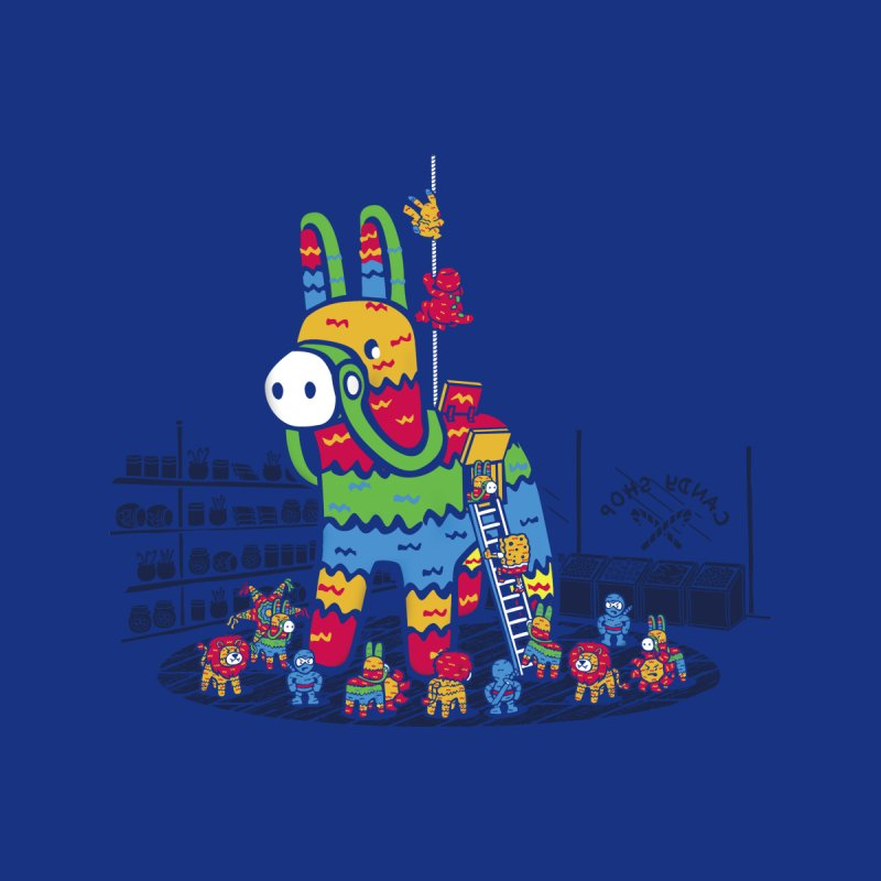 Trojan Pinata Men's T-Shirt by Threadless Artist Shop