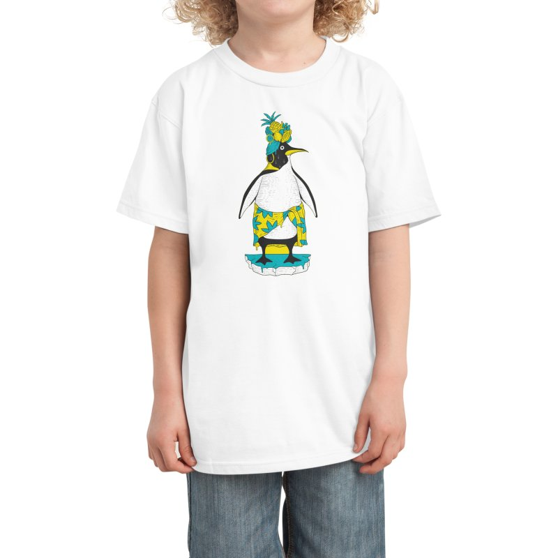 Tropical ice Kids T-Shirt by Threadless Artist Shop