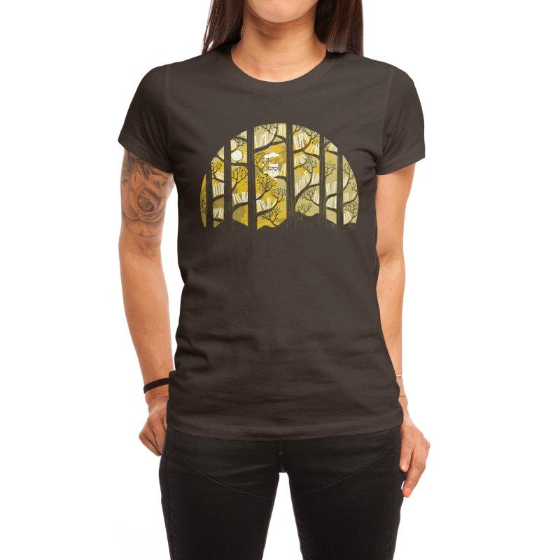 Why Is an Owl Smart? Women's T-Shirt by Threadless Artist Shop