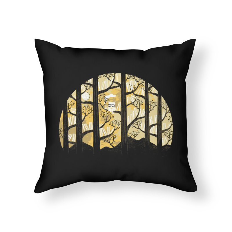 Why Is an Owl Smart? Home Throw Pillow by Threadless Artist Shop