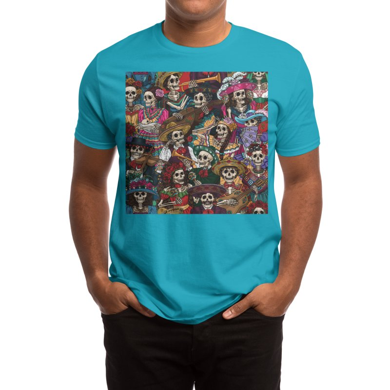 Dia de los Muertos Men's T-Shirt by Threadless Artist Shop