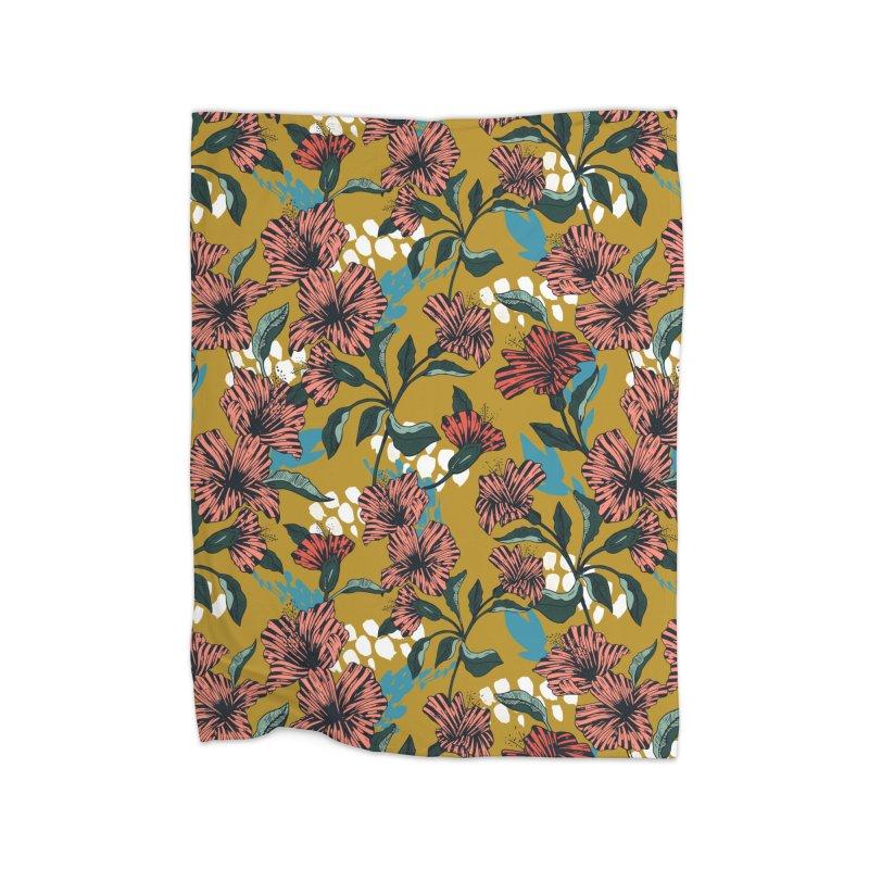 Flowering sweet bloom Home Blanket by Threadless Artist Shop