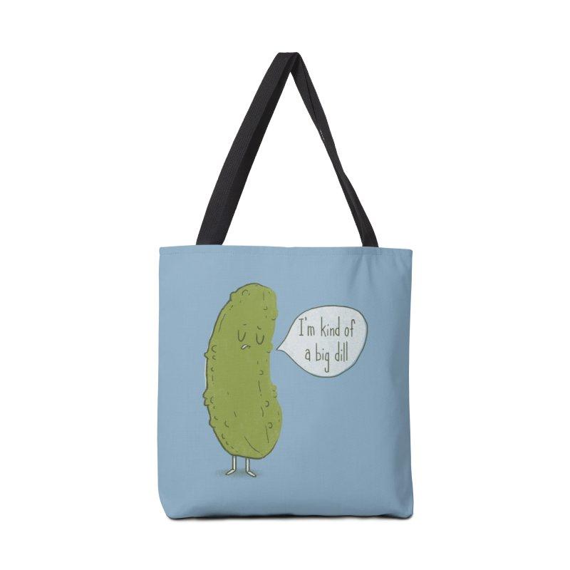 Big Dill Accessories Bag by Threadless Artist Shop