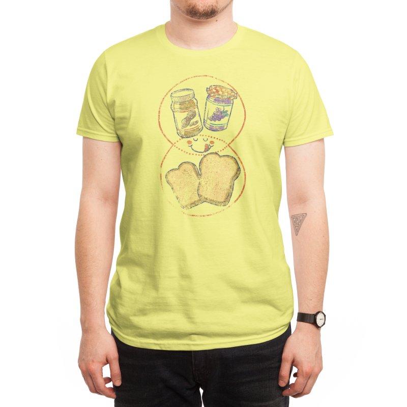 The Venn of PB&J Men's T-Shirt by Threadless Artist Shop