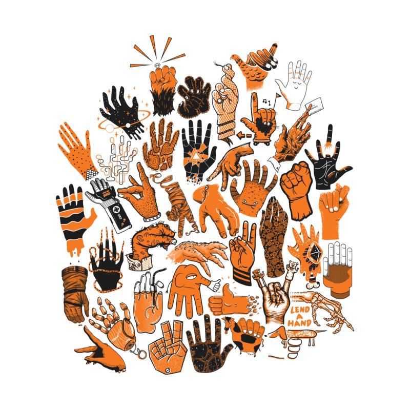 Lend a Hand Men's T-Shirt by Threadless Artist Shop