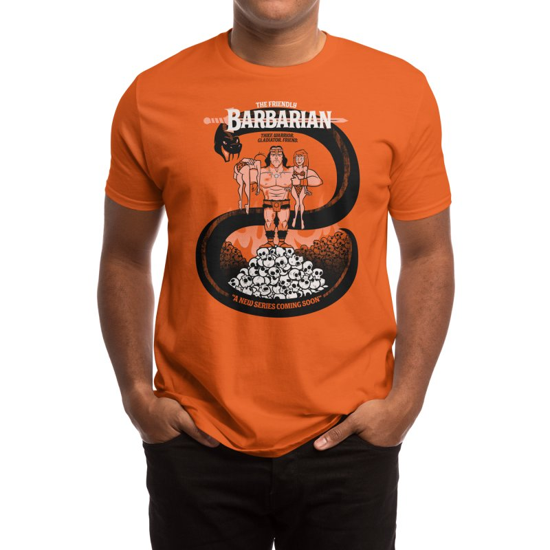The Barbarian Men's T-Shirt by Threadless Artist Shop