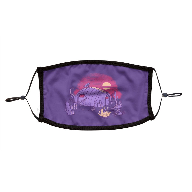 RV-Dillo Accessories Face Mask by Threadless Artist Shop