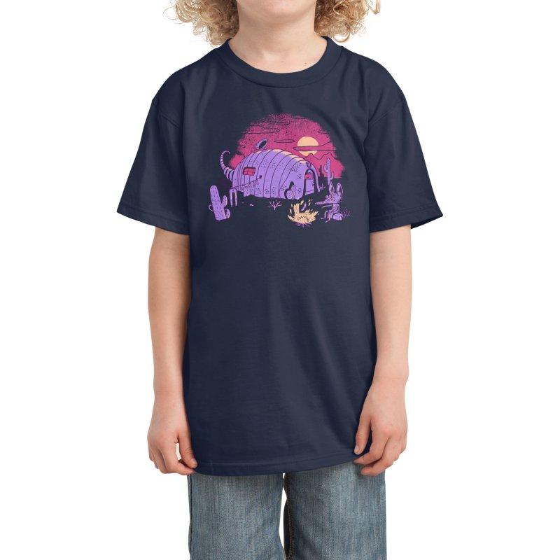 RV-Dillo Kids T-Shirt by Threadless Artist Shop