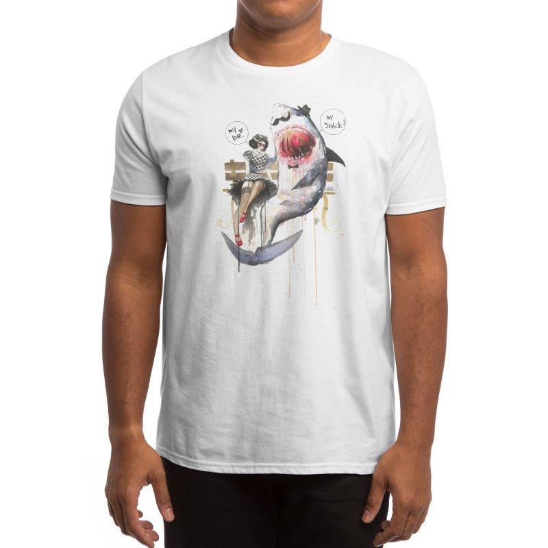 Mr. Shark Men's T-Shirt by Threadless Artist Shop