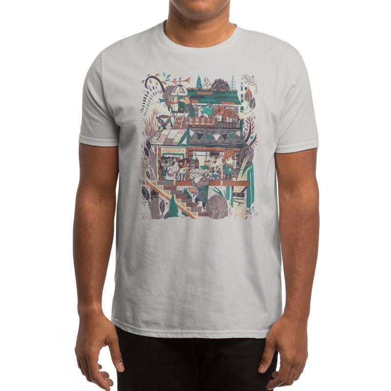 Tree House Warming Men's T-Shirt by Threadless Artist Shop