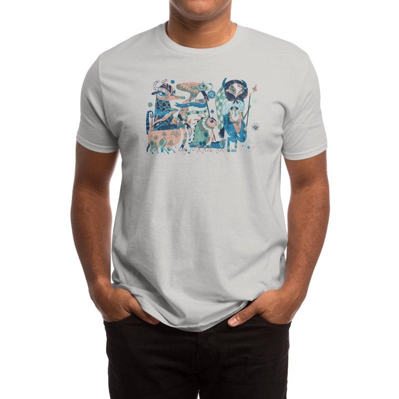 Crypto Parade Men's T-Shirt by Threadless Artist Shop