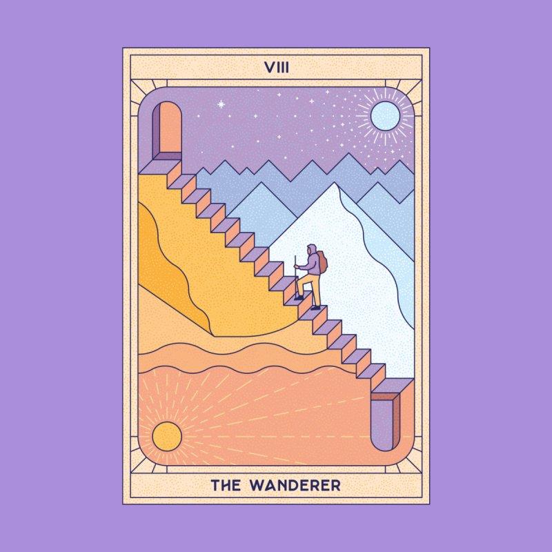 The Wanderer Men's Zip-Up Hoody by Threadless Artist Shop