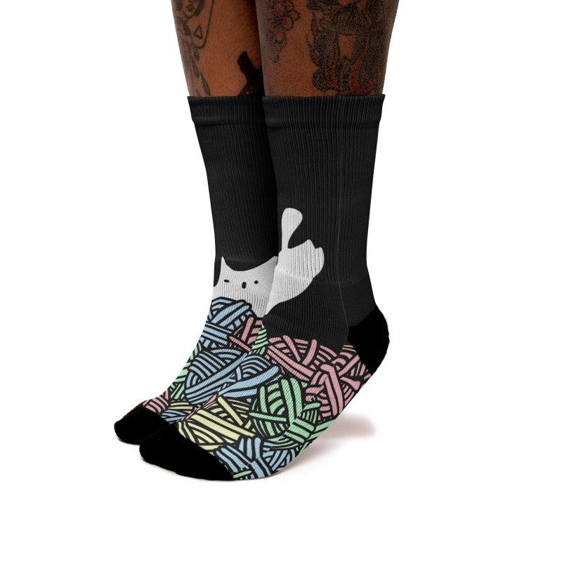 Woolly Wonderland Women's Socks by Threadless Artist Shop