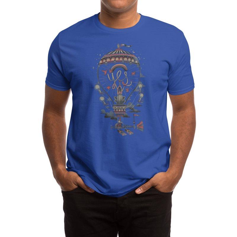 Idea Machine Men's T-Shirt by Threadless Artist Shop