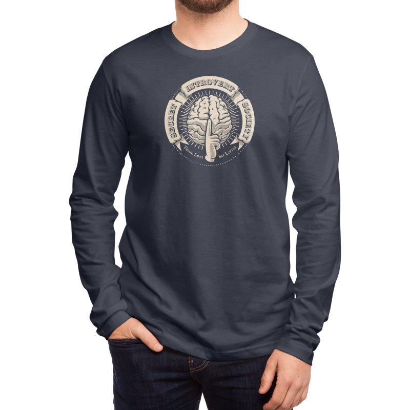 Secret Introvert Society Men's Longsleeve T-Shirt by Threadless Artist Shop