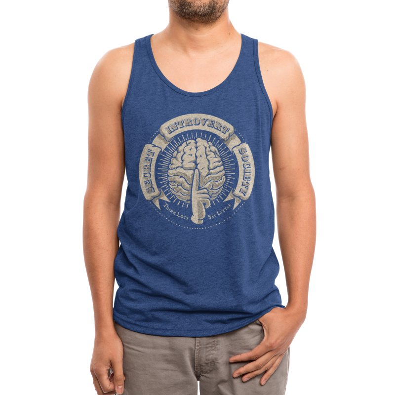 Secret Introvert Society Men's Tank by Threadless Artist Shop