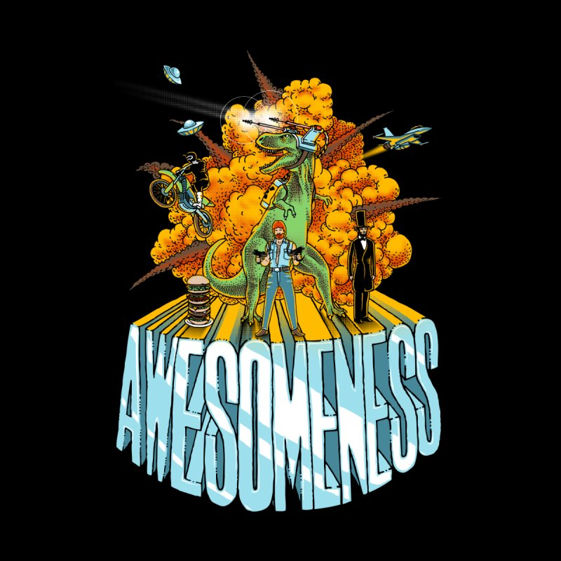 AWESOMENESS Men's T-Shirt by Threadless Artist Shop