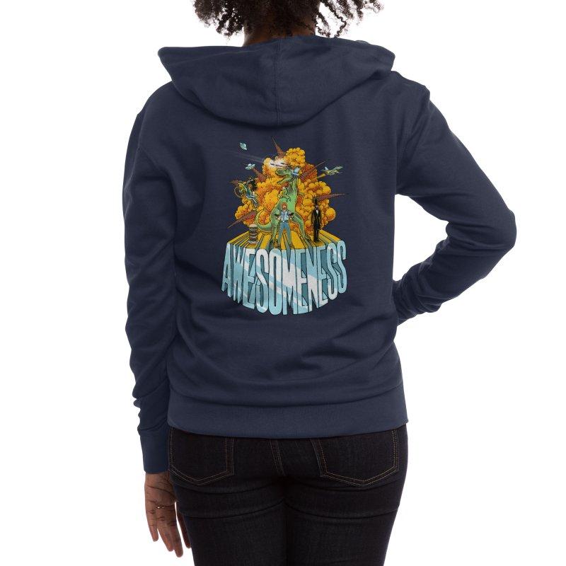 AWESOMENESS Women's Zip-Up Hoody by Threadless Artist Shop