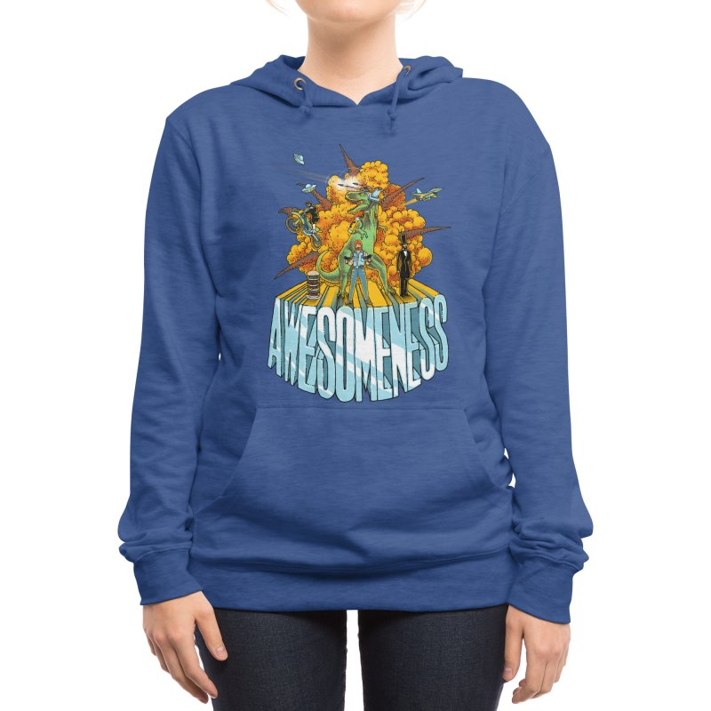 AWESOMENESS Women's Pullover Hoody by Threadless Artist Shop
