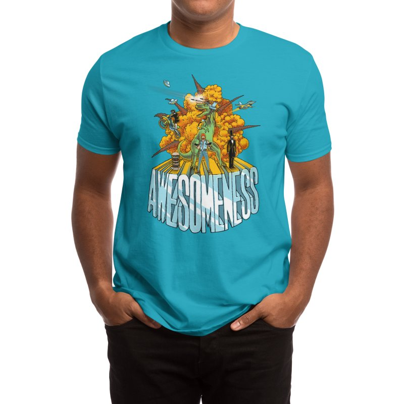 AWESOMENESS Men's T-Shirt by Threadless Artist Shop