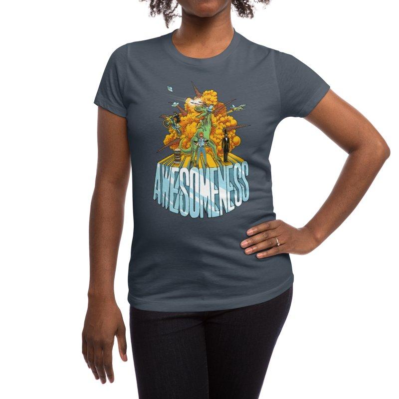 AWESOMENESS Women's T-Shirt by Threadless Artist Shop