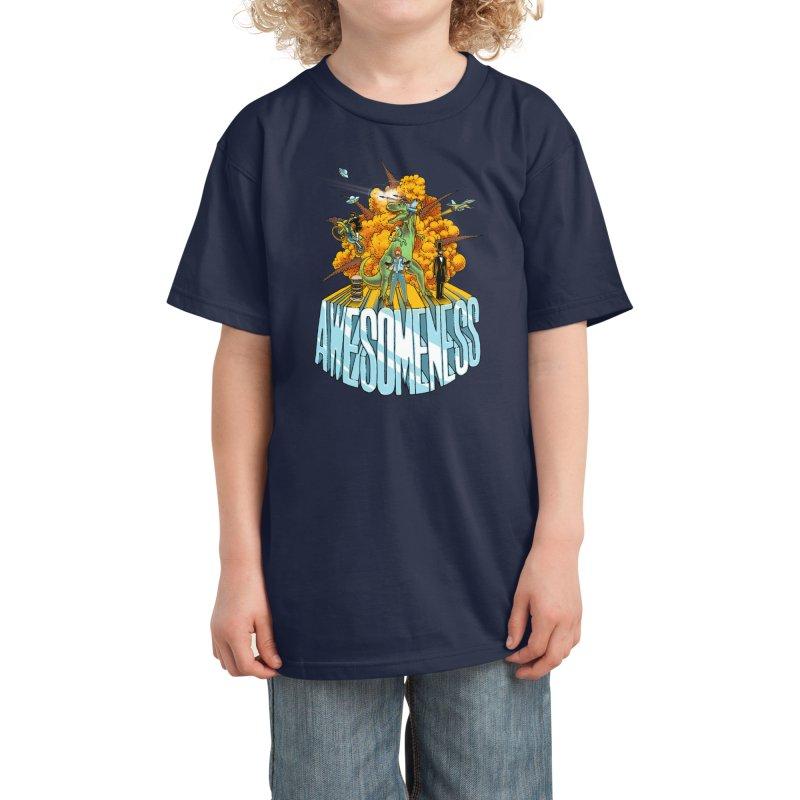 AWESOMENESS Kids T-Shirt by Threadless Artist Shop