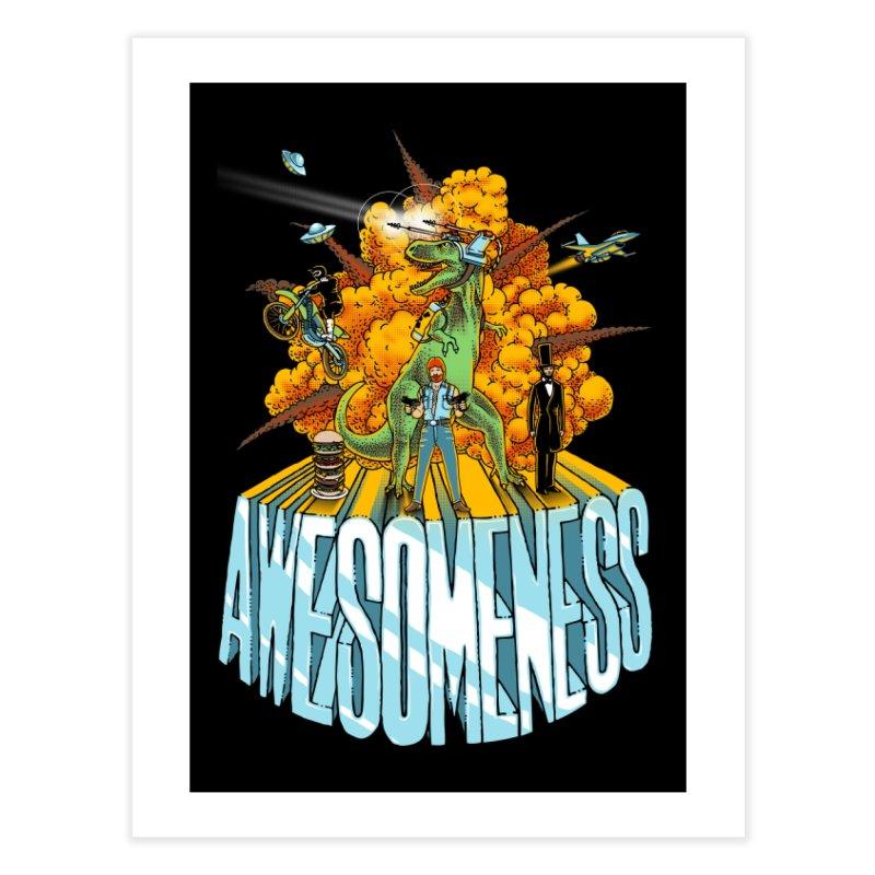 AWESOMENESS Home Fine Art Print by Threadless Artist Shop