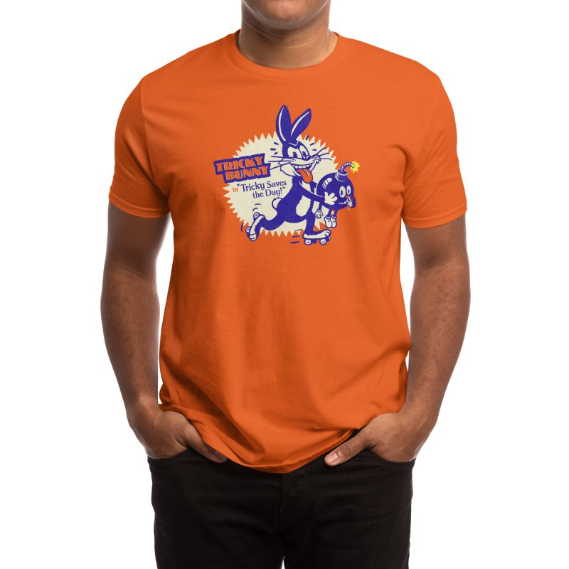 Tricky Saves the Day Men's T-Shirt by Threadless Artist Shop