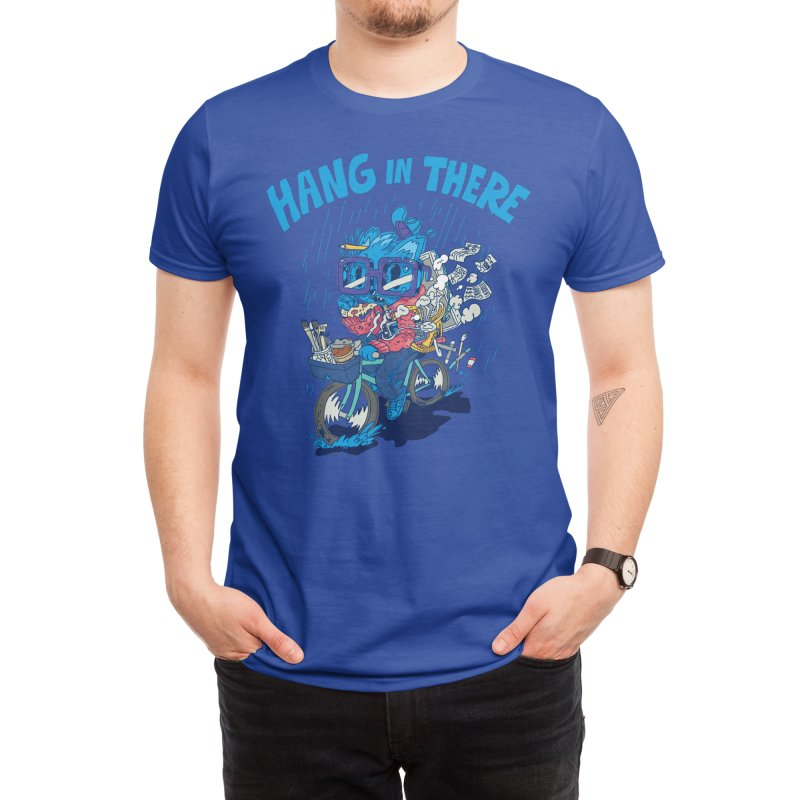 Hang In There! Men's T-Shirt by Threadless Artist Shop