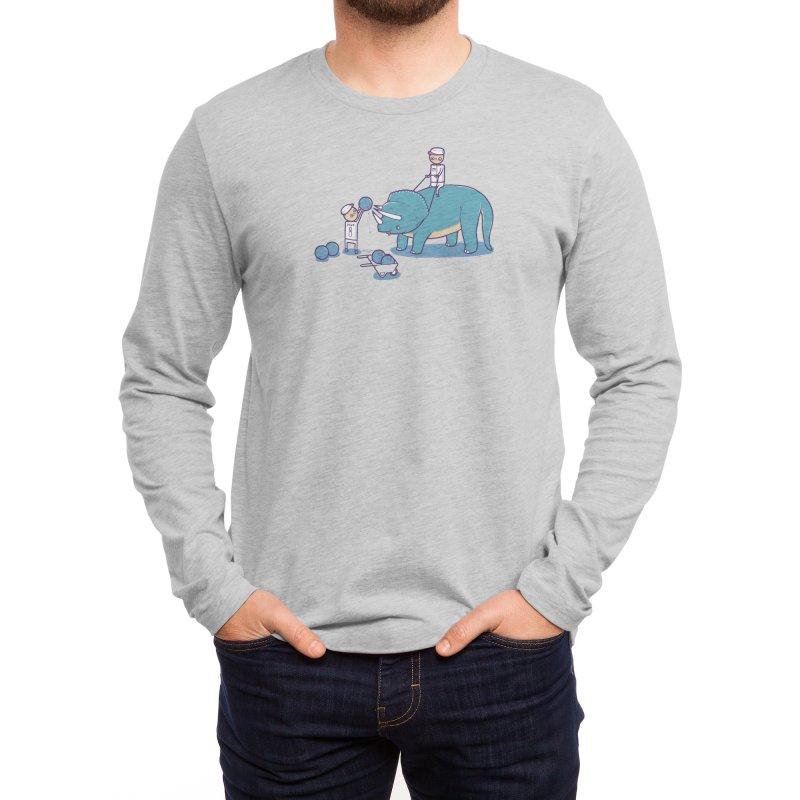 How Bowling Balls are Made Men's Longsleeve T-Shirt by Threadless Artist Shop