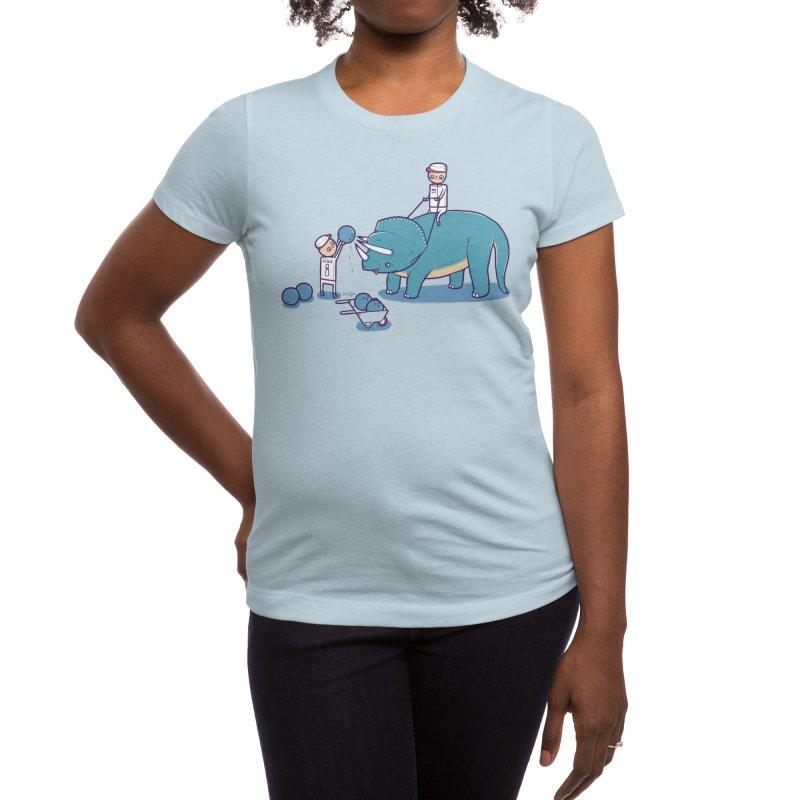 How Bowling Balls are Made Women's T-Shirt by Threadless Artist Shop