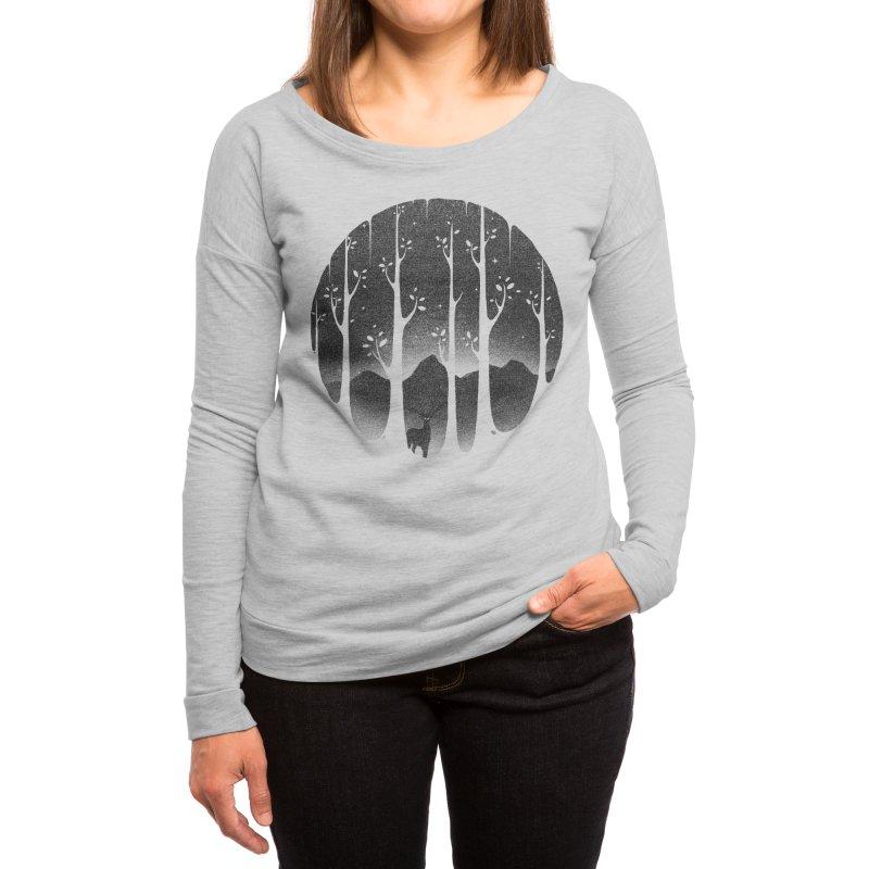 Mistiness | Women's Longsleeve T-Shirt Scoop Neck
