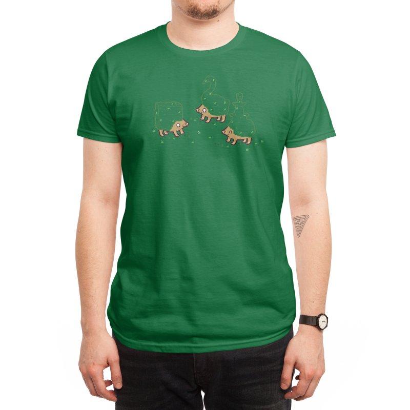 Hedgehogs Men's T-Shirt by Threadless Artist Shop