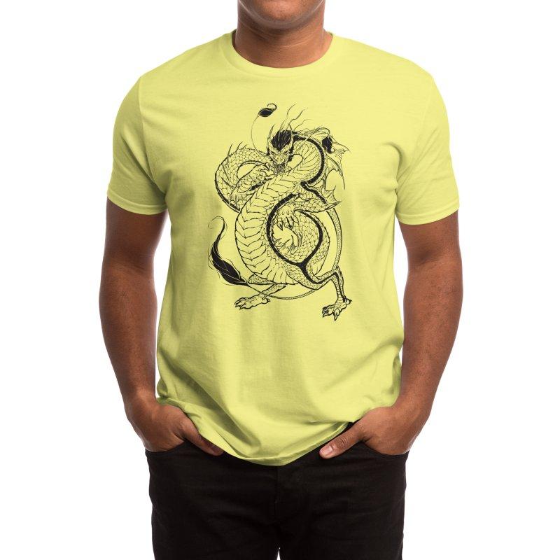 Bruce, the Dragon Men's T-Shirt by Threadless Artist Shop
