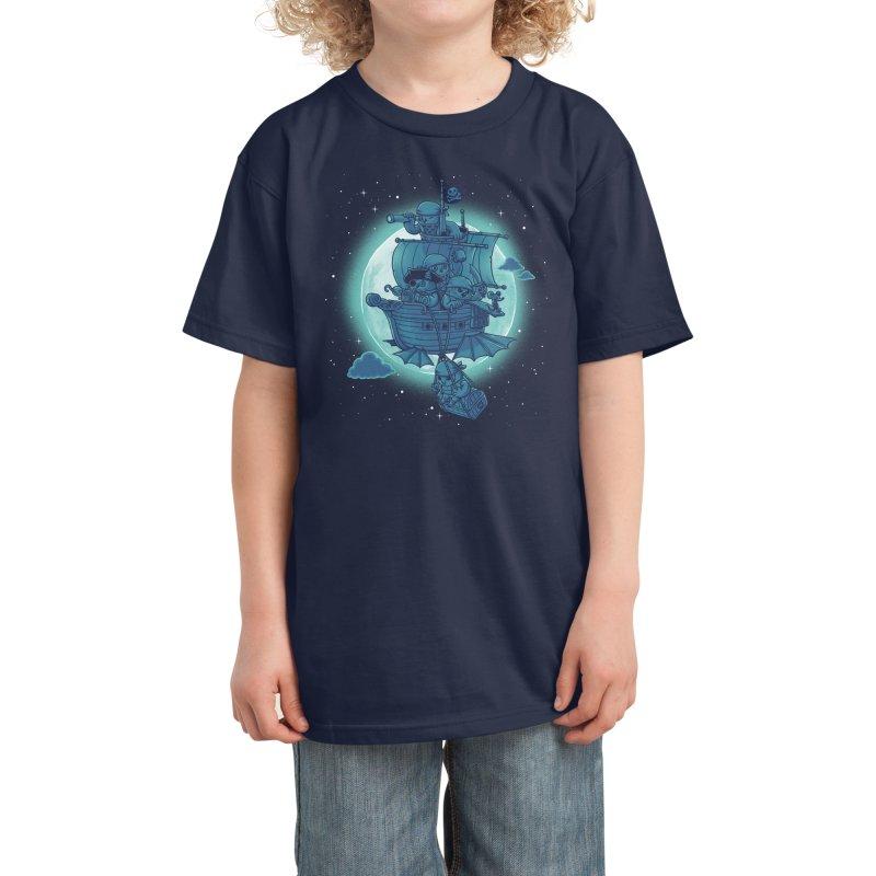 Pirate Owls Kids T-Shirt by Threadless Artist Shop