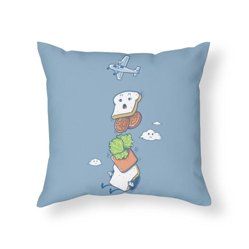Mid Air Disintegrated Home Throw Pillow by Threadless Artist Shop