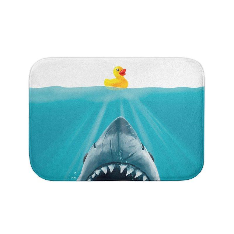 Save Ducky Home Bath Mat by Threadless Artist Shop