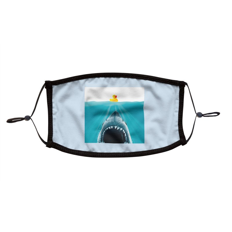 Save Ducky Accessories Face Mask by Threadless Artist Shop