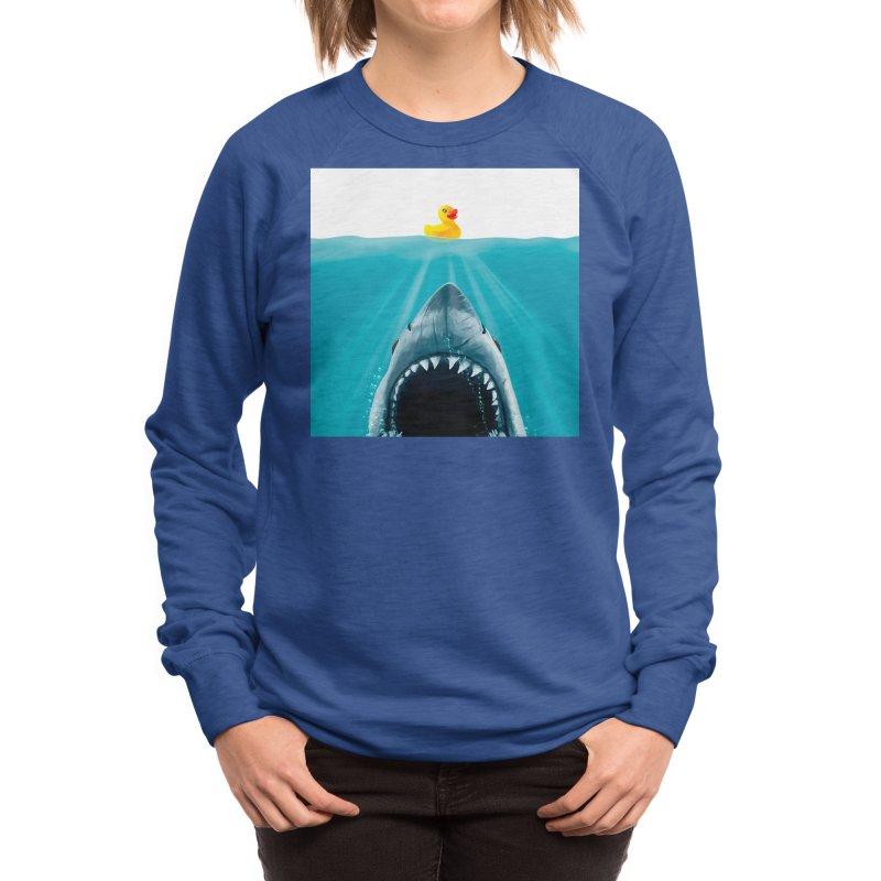 Save Ducky Women's Sweatshirt by Threadless Artist Shop