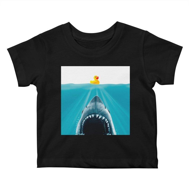 Save Ducky Kids Baby T-Shirt by Threadless Artist Shop