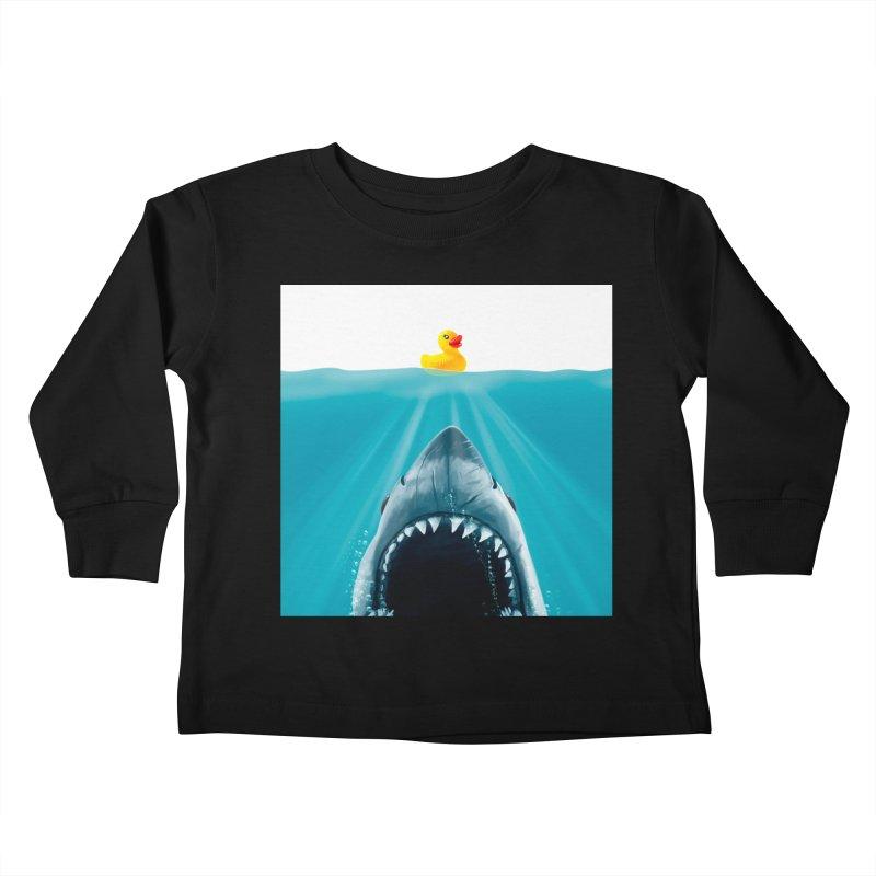 Save Ducky Kids Toddler Longsleeve T-Shirt by Threadless Artist Shop