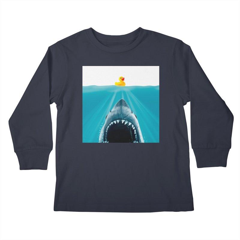 Save Ducky Kids Longsleeve T-Shirt by Threadless Artist Shop