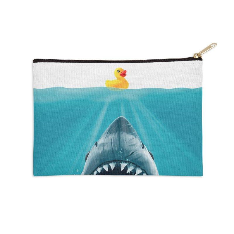 Save Ducky Accessories Zip Pouch by Threadless Artist Shop