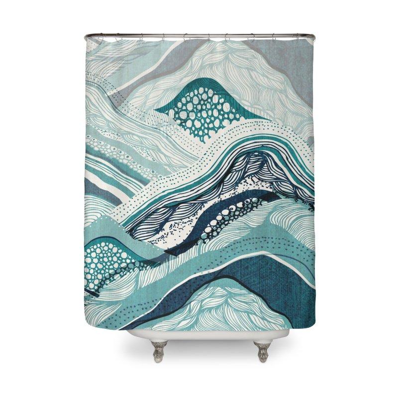 Crash Home Shower Curtain by Threadless Artist Shop