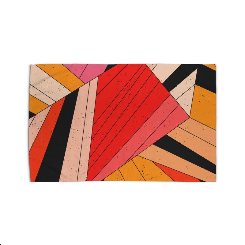 Geometric composition Home Rug by Threadless Artist Shop