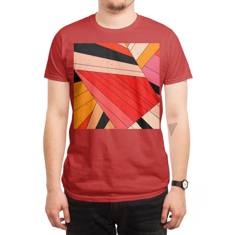 Geometric composition Men's T-Shirt by Threadless Artist Shop