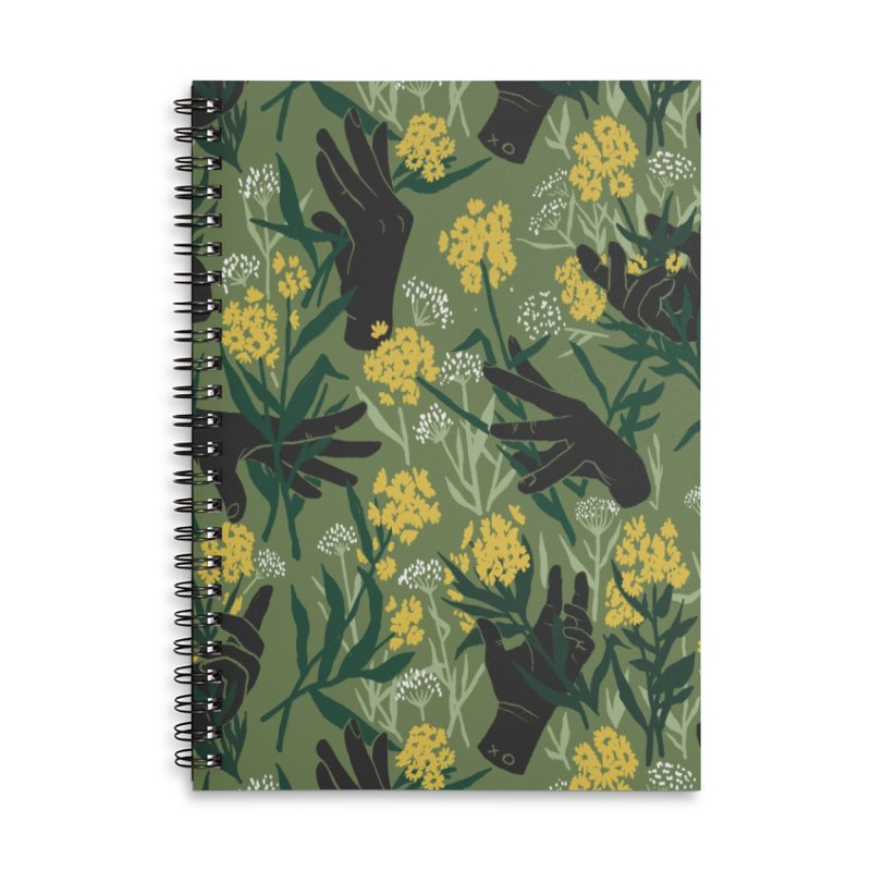 Green Thumb Accessories Notebook by Threadless Artist Shop