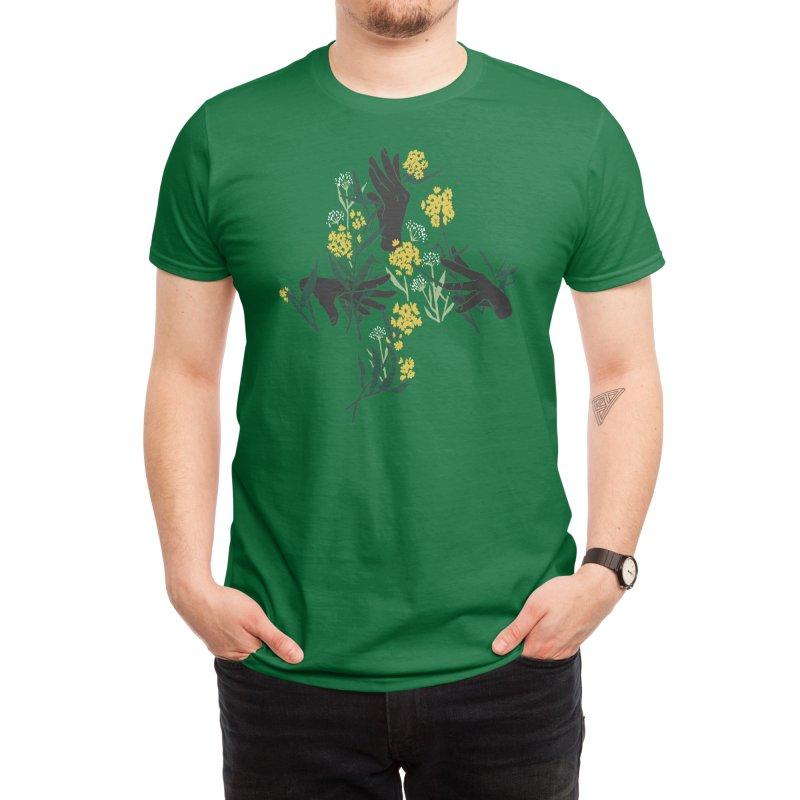 Green Thumb Men's T-Shirt by Threadless Artist Shop
