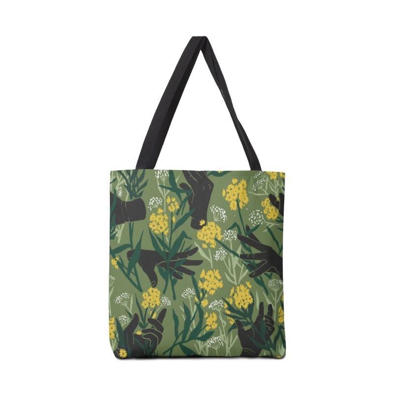 Green Thumb Accessories Bag by Threadless Artist Shop