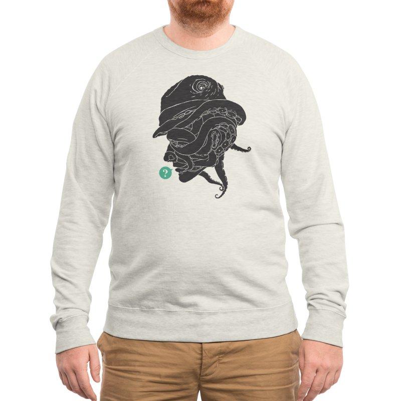Mr. Unknown Men's Sweatshirt by Threadless Artist Shop